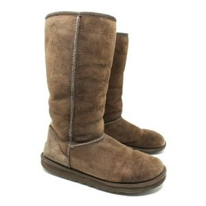 UGG Shoes - UGG Classic Tall Chocolate Brown Boots Size 8
